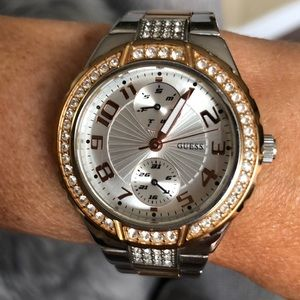 GUESS WATCH Two Tone